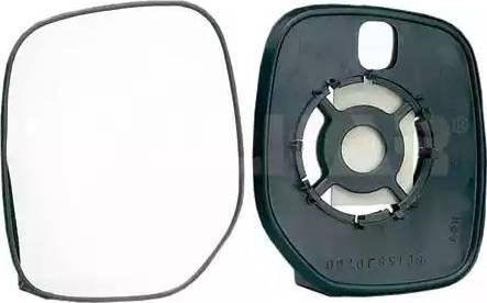 Alkar 6401974 - Cristal de espejo, retrovisor exterior superrecambios.com