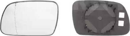 Alkar 6402307 - Cristal de espejo, retrovisor exterior superrecambios.com