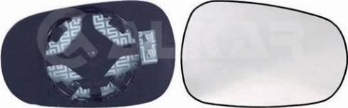 Alkar 6426164 - Cristal de espejo, retrovisor exterior superrecambios.com