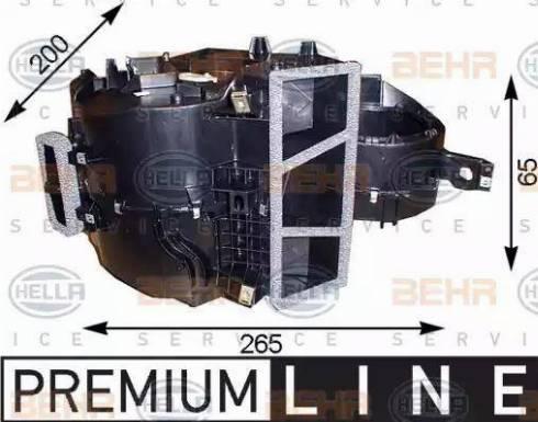 BEHR HELLA Service 8FV351211151 - Evaporador, aire acondicionado superrecambios.com
