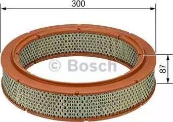 BOSCH 1457429080 - Filtro de aire superrecambios.com