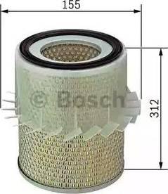 BOSCH 1457429033 - Filtro de aire superrecambios.com