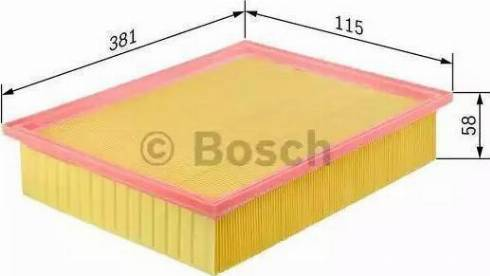 BOSCH 1457429079 - Filtro de aire superrecambios.com