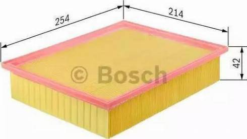 BOSCH 1457429078 - Filtro de aire superrecambios.com