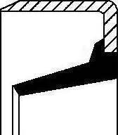 Corteco 01020437B - Retén, eje desembrague superrecambios.com