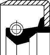 Corteco 12001623B - Anillo retén, caja de cambios superrecambios.com