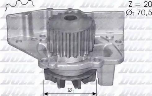 DOLZ C119 - Bomba de agua superrecambios.com