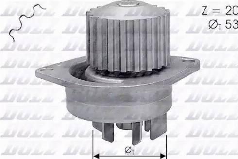 DOLZ C111 - Bomba de agua superrecambios.com