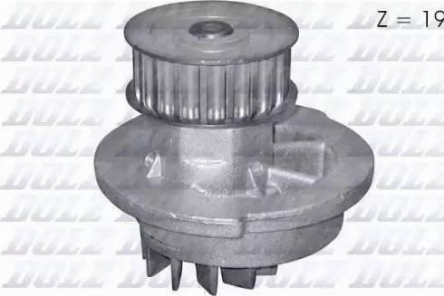 DOLZ O106 - Bomba de agua superrecambios.com