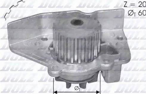 DOLZ N406 - Bomba de agua superrecambios.com