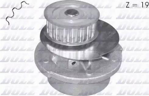 DOLZ O116 - Bomba de agua superrecambios.com