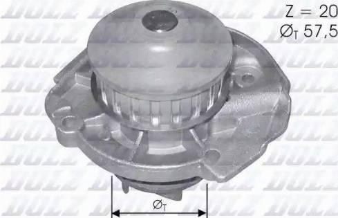DOLZ S161 - Bomba de agua superrecambios.com