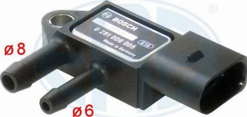 ERA 550711A - Sensor, presión gas de escape superrecambios.com