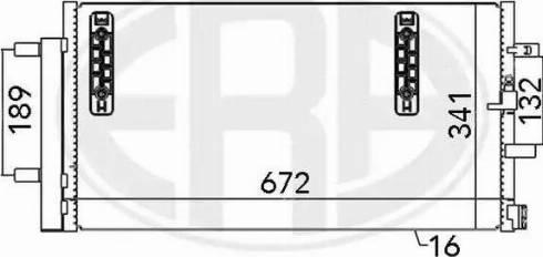 ERA 667048 - Condensador, aire acondicionado superrecambios.com