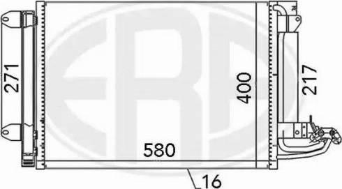 ERA 667003 - Condensador, aire acondicionado superrecambios.com