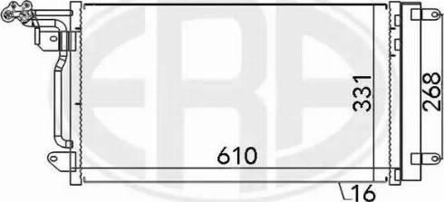 ERA 667026 - Condensador, aire acondicionado superrecambios.com