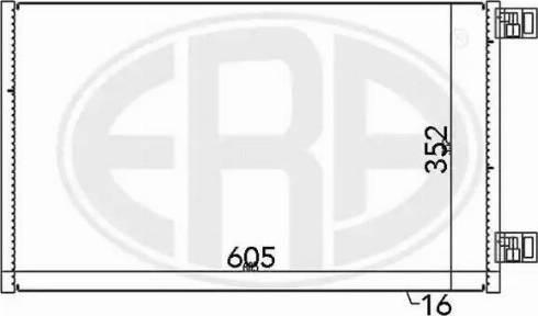 ERA 667148 - Condensador, aire acondicionado superrecambios.com