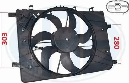 ERA 352098 - Ventilador, refrigeración del motor superrecambios.com