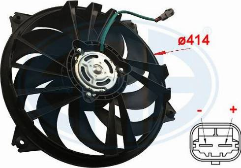 ERA 352011 - Ventilador, refrigeración del motor superrecambios.com