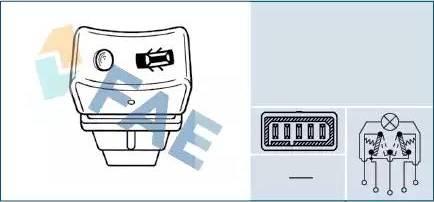 FAE 61250 - Interruptor, cierre de la puerta superrecambios.com