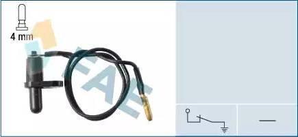FAE 67080 - Interruptor, contacto de puerta superrecambios.com