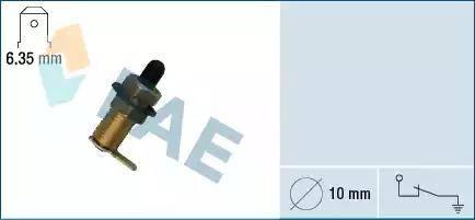 FAE 67230 - Interruptor, contacto de puerta superrecambios.com