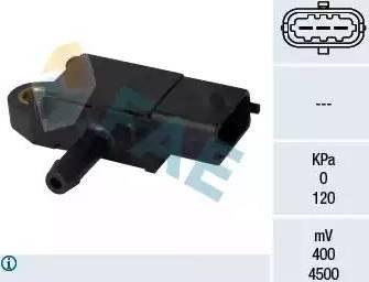 FAE 16108 - Sensor, presión gas de escape superrecambios.com
