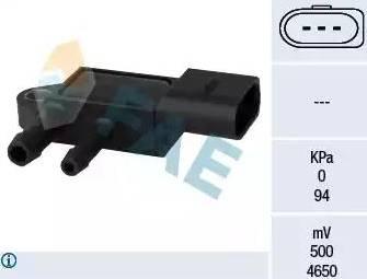 FAE 16103 - Sensor, presión gas de escape superrecambios.com