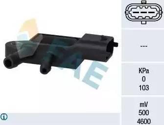 FAE 16107 - Sensor, presión gas de escape superrecambios.com