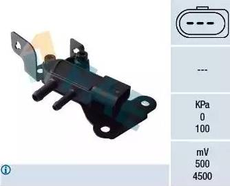 FAE 16114 - Sensor, presión gas de escape superrecambios.com