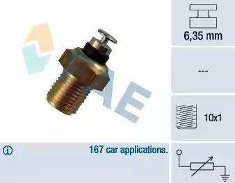 FAE 32110 - Sensor, temperatura del refrigerante superrecambios.com