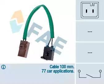 FAE 24905 - Conmutador, accionamiento embrague (control veloc.) superrecambios.com
