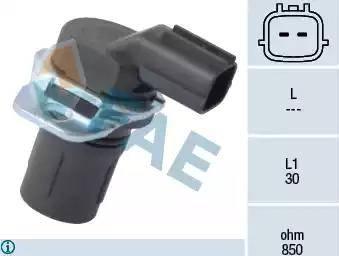 FAE 79181 - Sensor de revoluciones, caja automática superrecambios.com