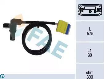 FAE 79223 - Sensor de revoluciones, caja automática superrecambios.com