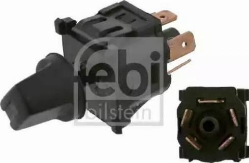 Febi Bilstein 14078 - Interruptor de ventilador, calefacción/ventilación superrecambios.com