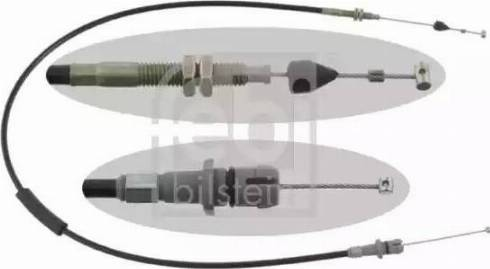 Febi Bilstein 15750 - Cable, transmisión automática superrecambios.com