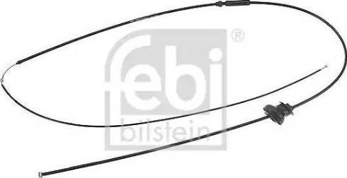 Febi Bilstein 18731 - Cable del capó del motor superrecambios.com