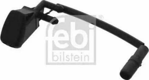 Febi Bilstein 12616 - Tobera de agua regadora, lavado de parabrisas superrecambios.com