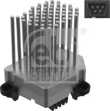 Febi Bilstein 31966 - Unidad de control, aire acondicionado superrecambios.com