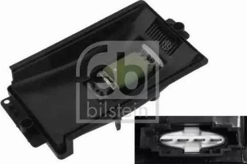 Febi Bilstein 33154 - Unidad de control, calefacción/ventilación superrecambios.com