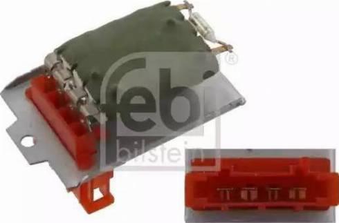 Febi Bilstein 32178 - Unidad de control, calefacción/ventilación superrecambios.com