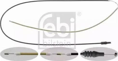 Febi Bilstein 26682 - Cable del capó del motor superrecambios.com