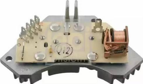 Febi Bilstein 28311 - Unidad de control, calefacción/ventilación superrecambios.com