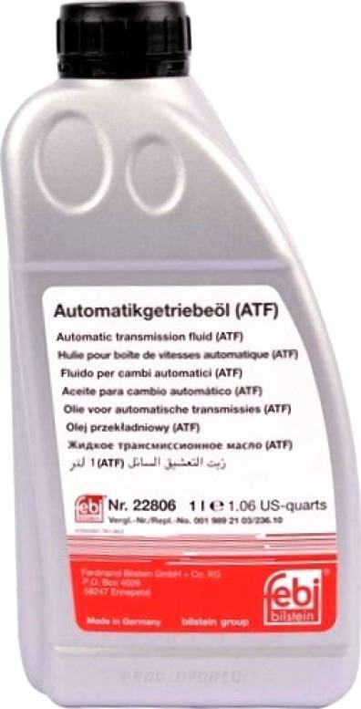 Febi Bilstein 22806 - Aceite para transmisión automática superrecambios.com