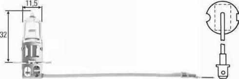 HELLA 8GH002090251 - Lámpara, faro antiniebla superrecambios.com