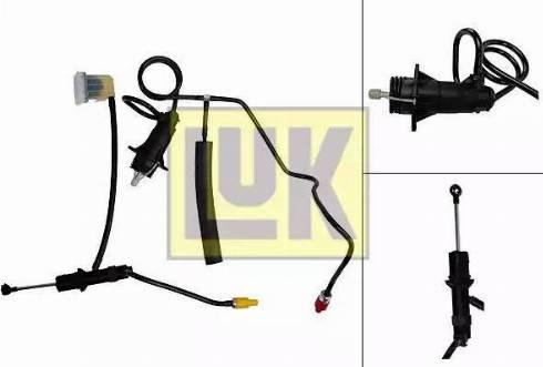 LUK 513005710 - Juego de cilindros receptor/maestro, embrague superrecambios.com