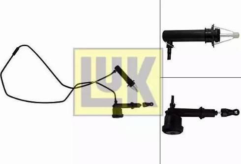 LUK 513006610 - Juego de cilindros receptor/maestro, embrague superrecambios.com