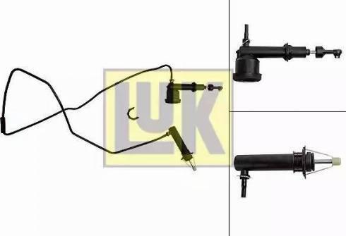 LUK 513003010 - Juego de cilindros receptor/maestro, embrague superrecambios.com