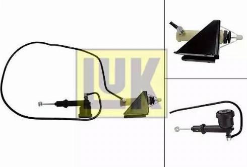 LUK 513002610 - Juego de cilindros receptor/maestro, embrague superrecambios.com