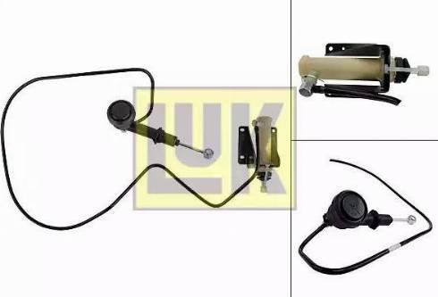LUK 513007110 - Juego de cilindros receptor/maestro, embrague superrecambios.com